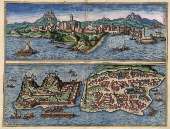 Országos Széchényi Könyvtár: Korfu (Corphu) a XVI–XVII. század fordulóján