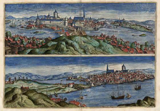 Országos Széchényi Könyvtár: Stockholm (Stocholm) a XVI–XVII. század fordulóján