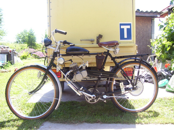 zoran: GT2B 48ccm  GGG-1  '938-as katonai  kétsebességes biciglin