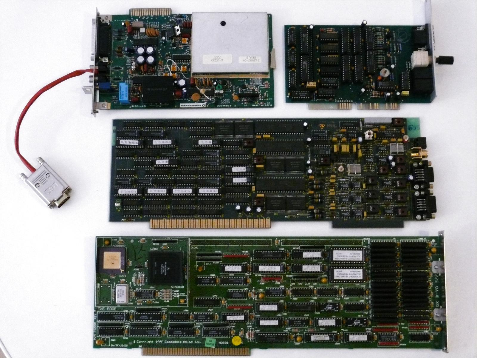 Amiga 2000 cards