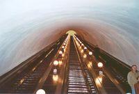 vrobee: Escalator, metro Kyiv