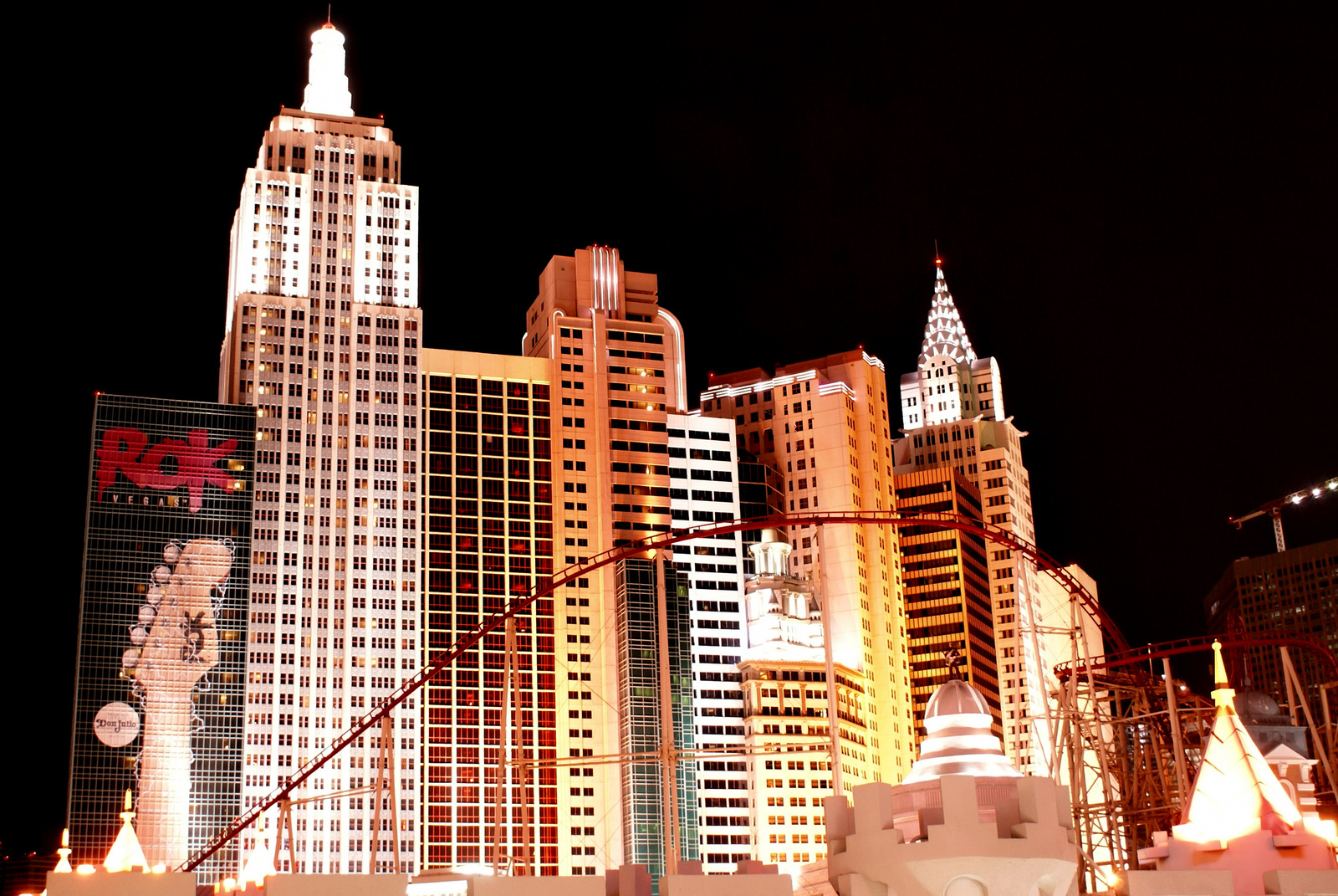 Las Vegas Strip New York New York