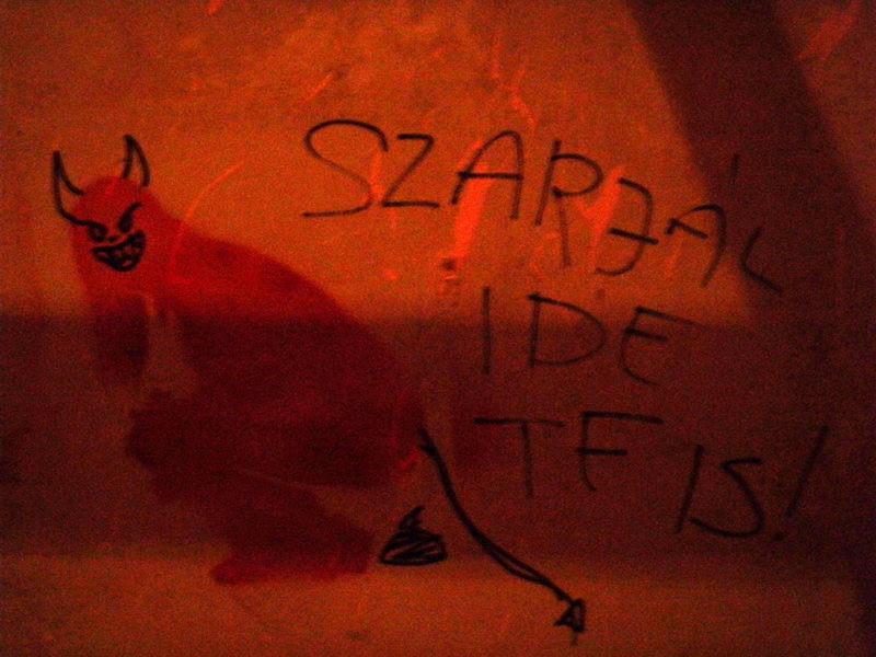 Mosdó graffiti