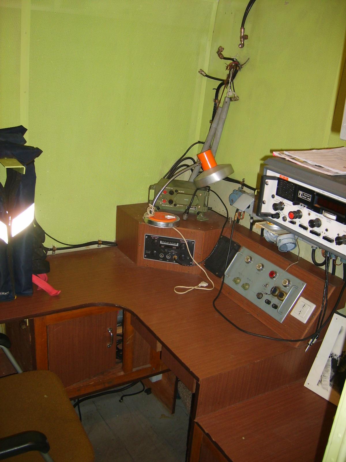 AM-31 naszád rádiós fülke