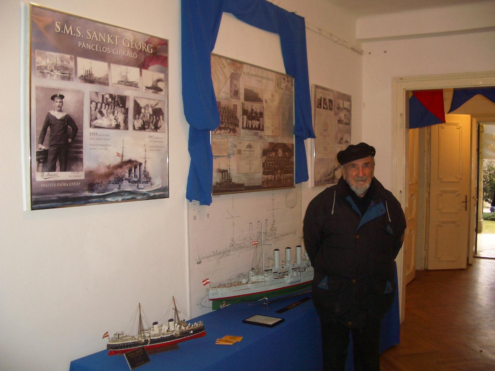 KuK hadihajók modelljei