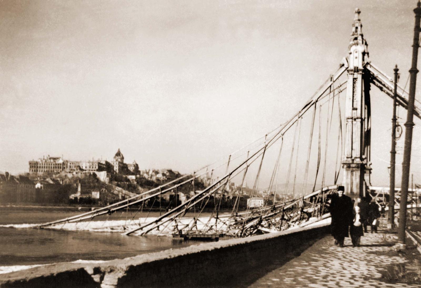 Erzsébet híd  - 1946 február 2