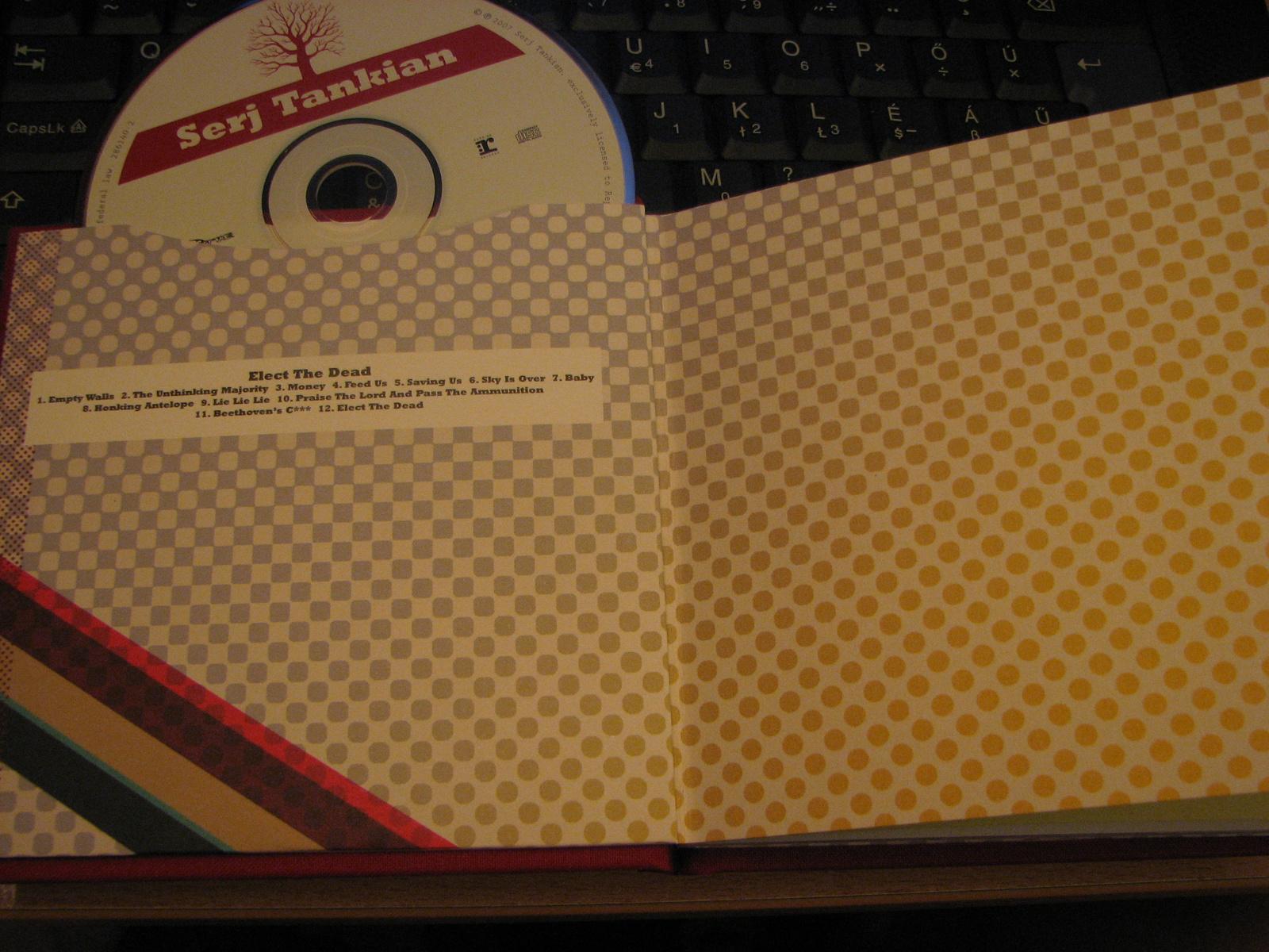 Inlay + CD