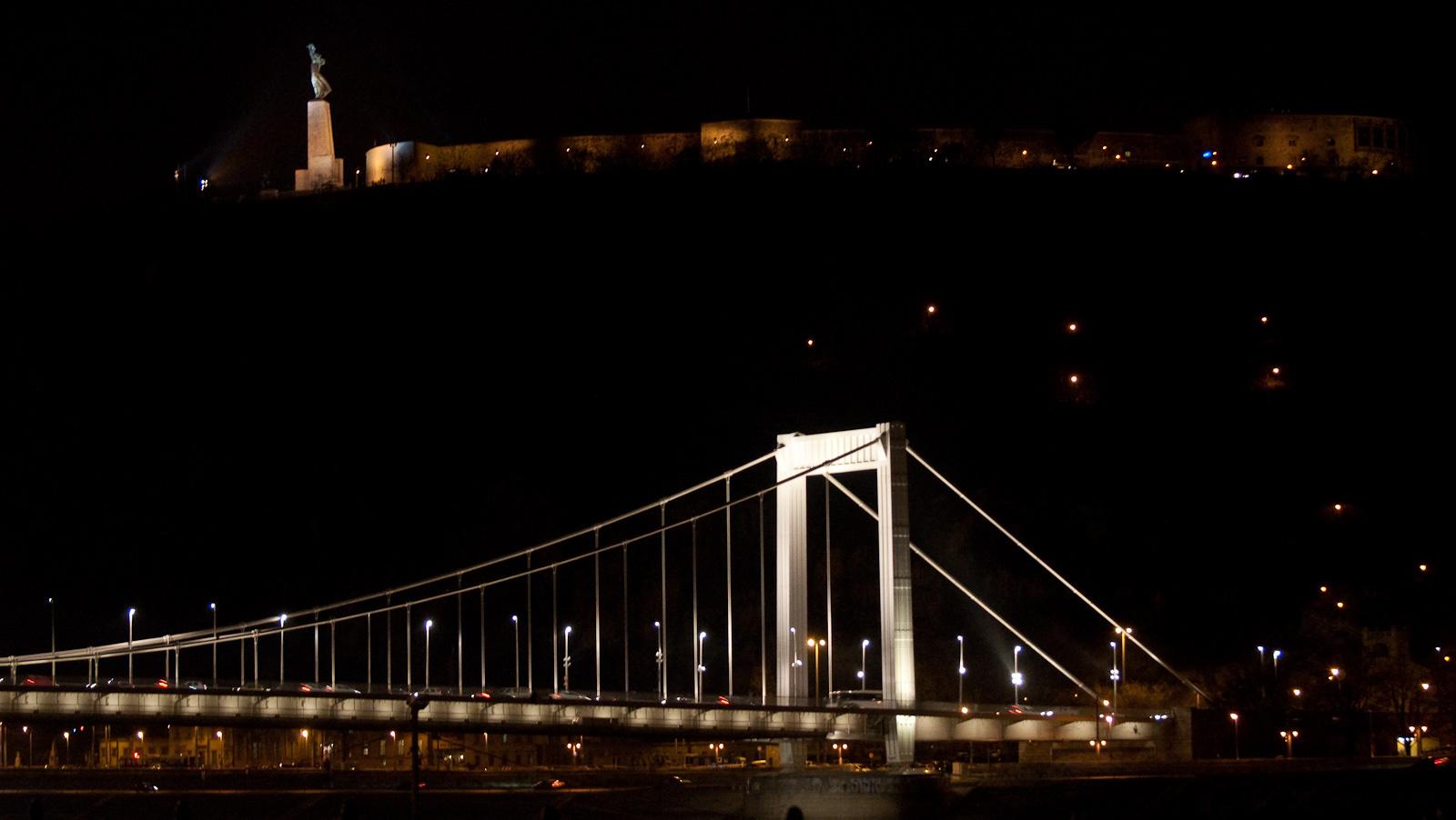 Citadella, Erzsébet híd