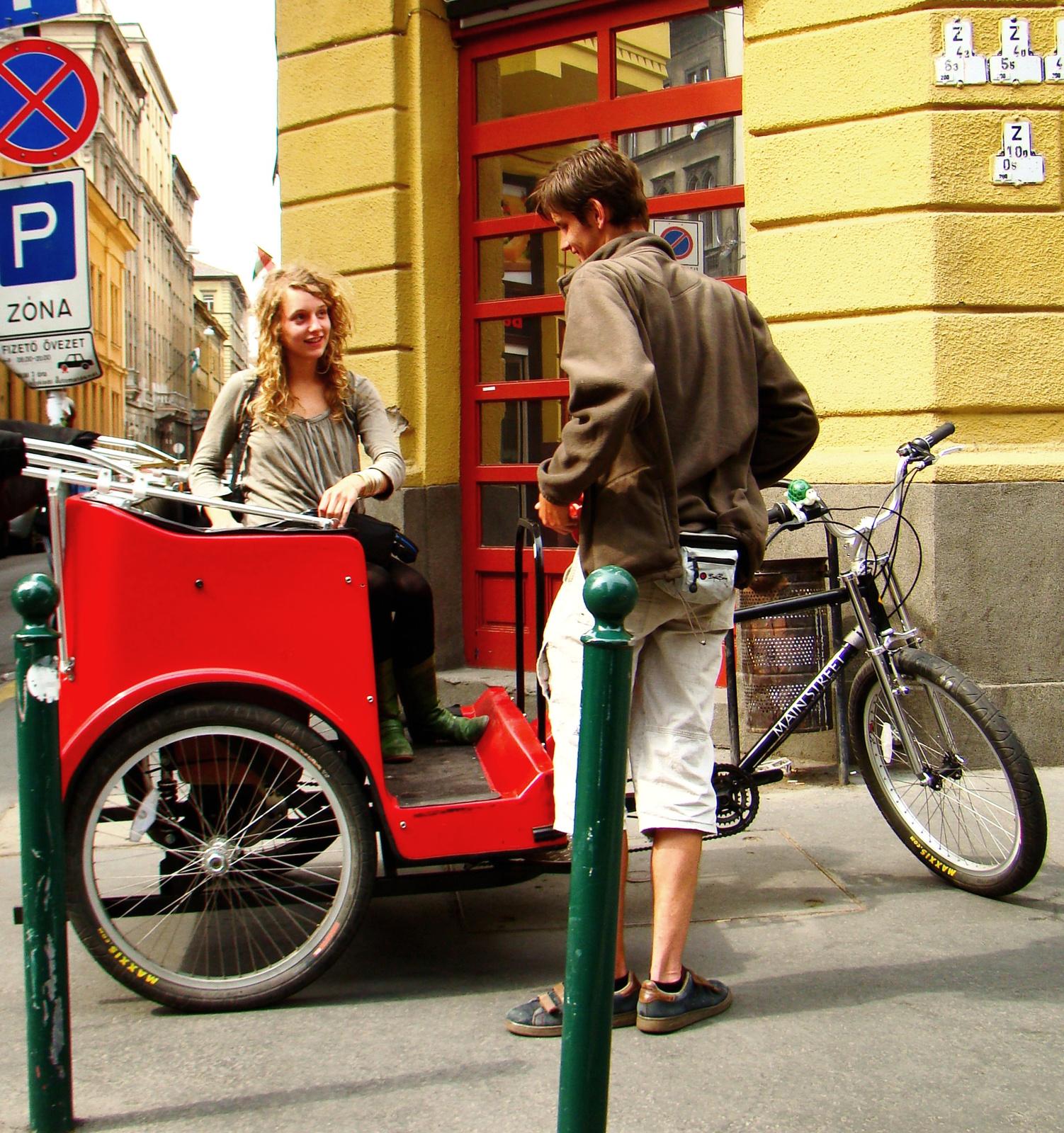 Triciklizünk?