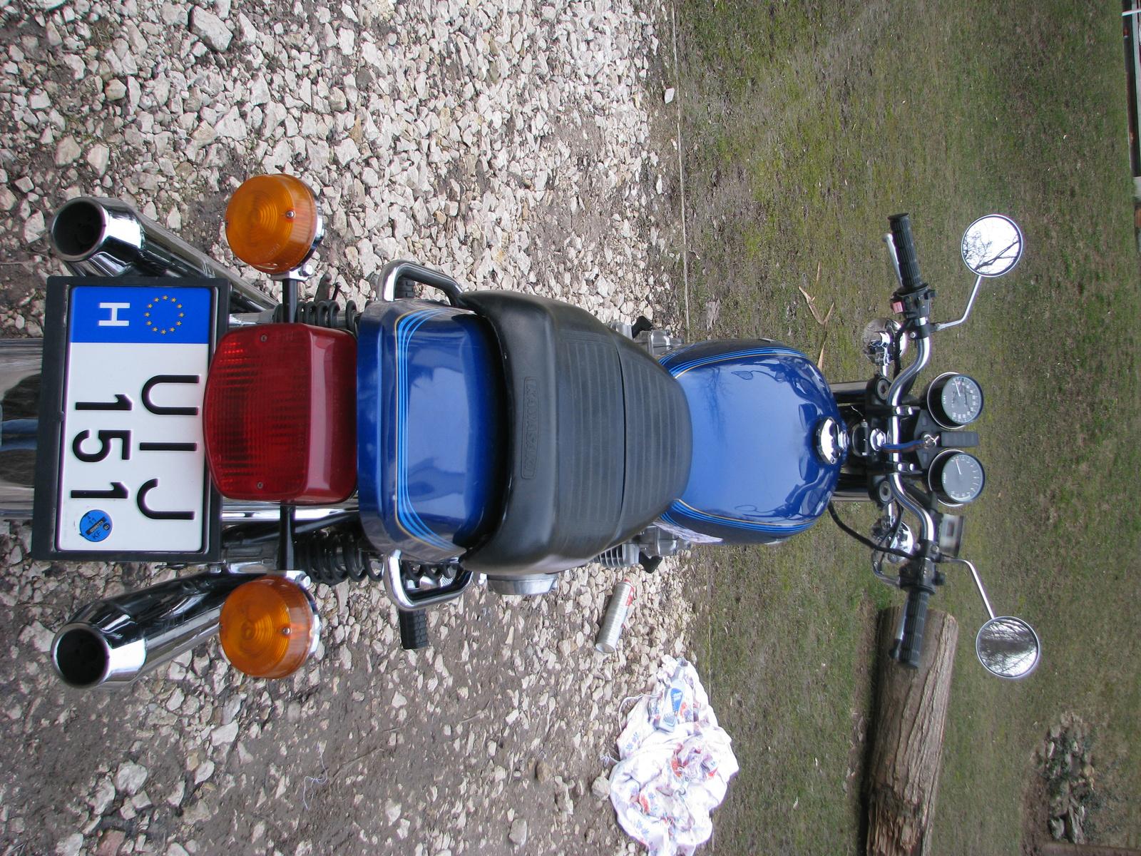Kawasaki z650 4